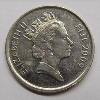 Фиджи 5 центов 2009 г