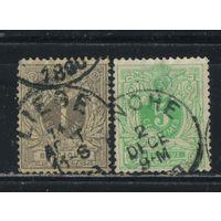 Бельгия Кор 1884 Герб Номинал Стандарт #40-1