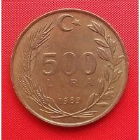 56-38 Турция, 500 лир 1989 г.