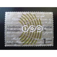Финляндия 2006 100 лет финскому парламенту