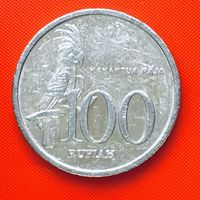 20-29 Индонезия, 100 рупий 1999 г.