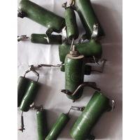 Резисторы ПЭВ-10,С-5  12шт.