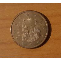 5 евроцентов 2010 Испания