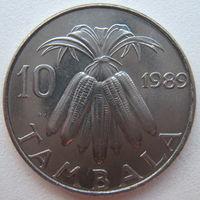 Малави 10 тамбала 1989 г. (g)