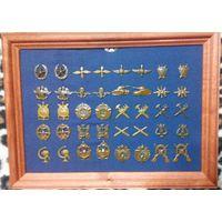 Полевые петличные эмблемы Вооруженных сил  СССР