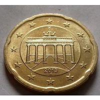20 евроцентов, Германия 2013 A, AU