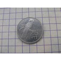 Сейшелы 25 центов 1997г.km49a