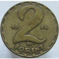 Венгрия 2 форинта 1974