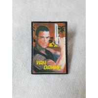 """Значок """"Жан-Клод Ван Дамм / Jean-Claude Van Damme"""""""
