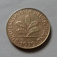 10 пфеннигов, Германия 1979 J
