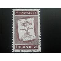 Исландия 1976 200 лет исландской почты