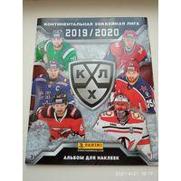 Альбом наклеек КХЛ Хоккей