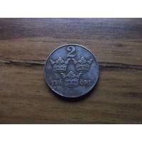 Швеция 2 оре 1950