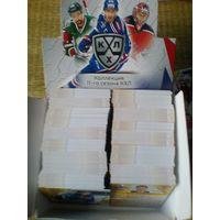 400 базовых карточек 11 сезона КХЛ одним лотом.