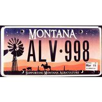 Номер автомобильный США Montana Agriculture