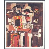 Антигуа 1981 Живопись. Пикассо, блок