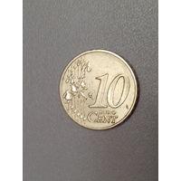 10 евроцентов 2002 год (J)