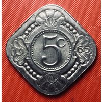 30-17 Антильские острова, 5 центов 1965 г.