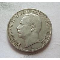 Баден Германская империя 3 марки 1910