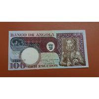 100 эскудо Ангола 1973  P-106