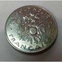 Французская Полинезия 20 франка 1996