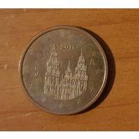 5 евроцентов 2016 Испания