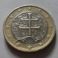1 евро, Словакия 2009 г.