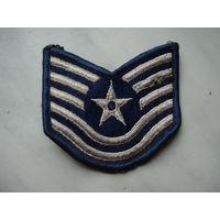 Нашивка техник-сержанта ВВС США 100% оригинал