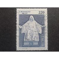 Италия 1980 святой Бенедикт