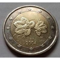 2 евро, Финляндия 2004 г.