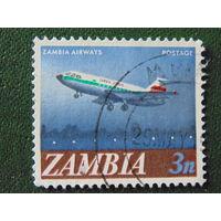 Замбия.  Авиация.