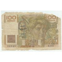 Франция, 100 франков 1953 год.
