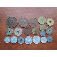Неплохая подборка монет старой Японии
