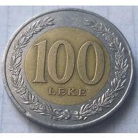 Албания 100 леков, 2000   ( 3-4-4 )