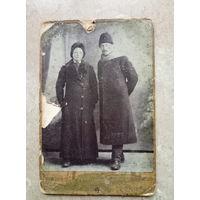 Две фотографии одной женщины.1914 г.