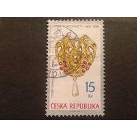 Чехия 2006 золотая брошь