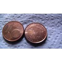 Эстония 1 евроцент 2011г. распродажа