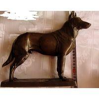 3 рейх статуэтка ОВЧАРКА(любимая собака фюрера) 23х22х6 см