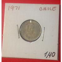 Чили, 1 эскудо 1971г.