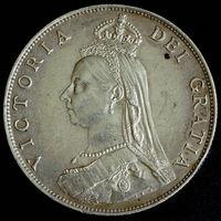 Великобритания флорин 1887