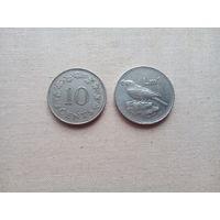 1 лира и 10 центов Мальты - с 10 копеек!