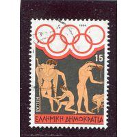 Греция. Летние олимпийские игры. Лос Анжелес 1984