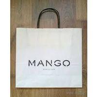 Пакет бумажный манго
