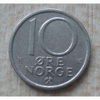 Норвегия 10 эре 1984 год