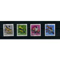Швейцария 1969г. птицы, 4м