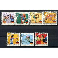 Мадагаскар (Малагаси) - 1992 - Летние олимпийские игры - [Mi. 1374-1380] - полная серия - 7 марок. MNH.