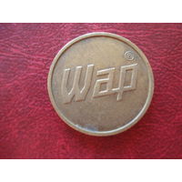 Жетон Wap (монета валидатор Германия, моечный жетон)