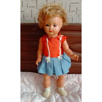 Кукла гдр 50 годов клеймо Arthur Schoenau ASS в родном наряде отличное состояние