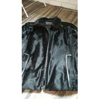 Кожаная куртка 54