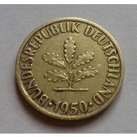 10 пфеннигов, Германия 1950 J